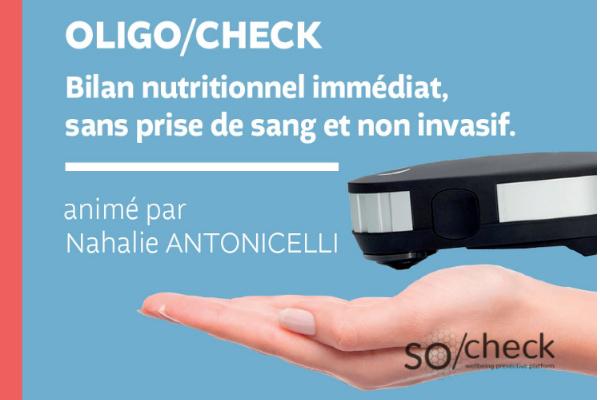 bilan nutritionnel Oligo-Check au Beaupré biomonde de royan