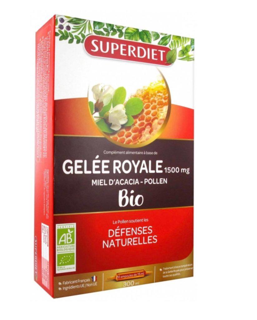 Gelée royale Bio Superdiet pour vos défenses naturelles dans les rayons du Beaupré Biomonde Royan