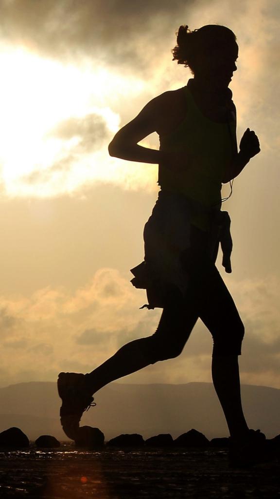 Sportif et en bonne santé