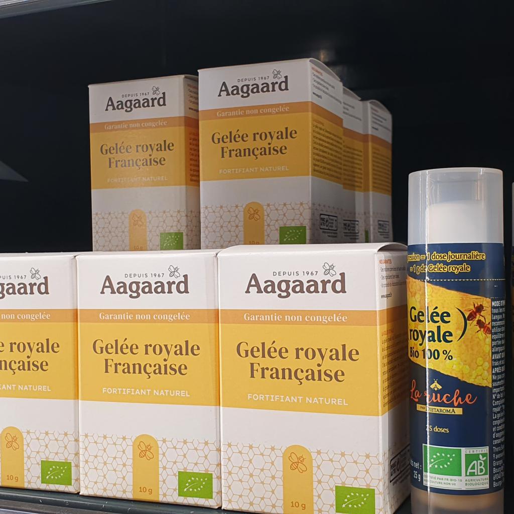 Aagaard gelée royal française bio